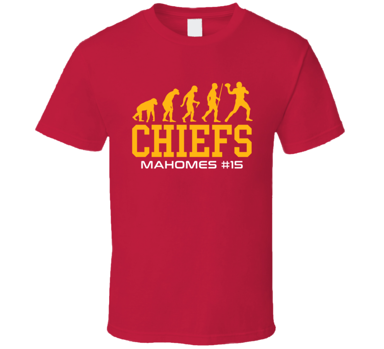 Evolution Patrick Mahomes Kansas City Football Team Fan T Shirt