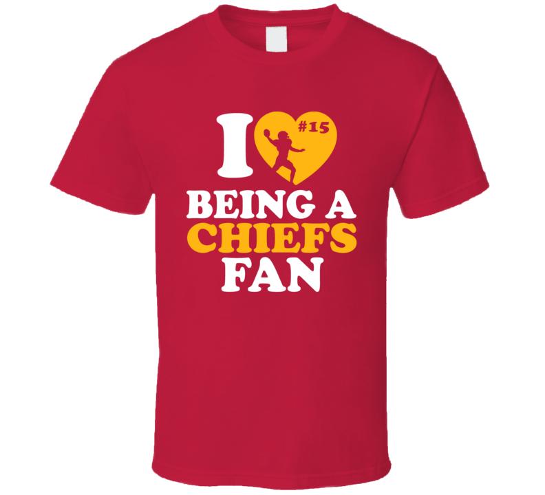 Love Being A Fan Patrick Mahomes Kansas City Football Team Fan T Shirt