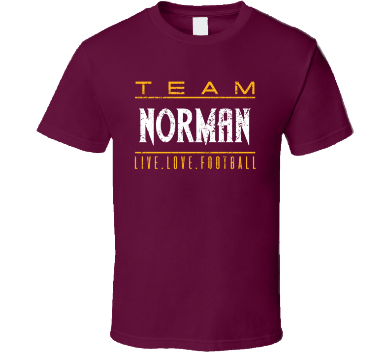 Alstyle Josh Norman Live Love Washington Football Sports Athlete T Shirt Unisex Tshirt