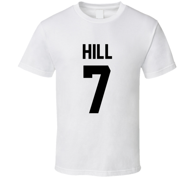 Taysom Hill # 7 Jersey Back New Orleans Football Team Fan For White T Shirt
