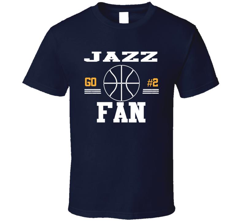 Joe Ingles #2 Utah Basketball Go Team Fan Sports T Shirt