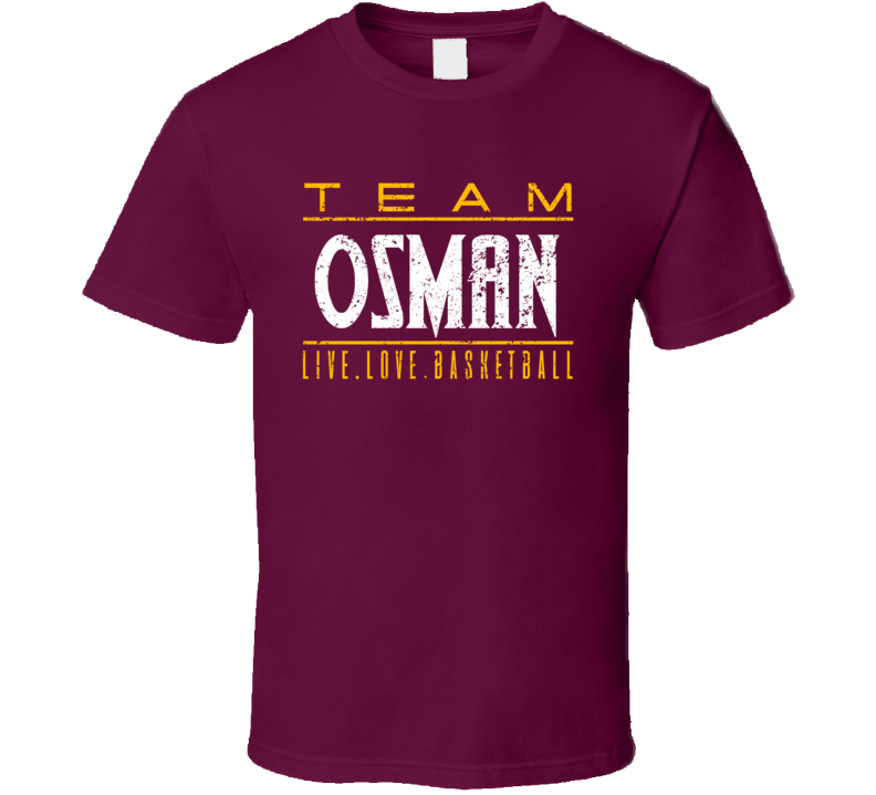 Cedi Osman Live Love Cleveland Basketball Team Fan Sports T Shirt