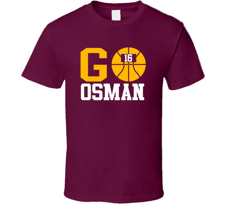Cedi Osman Go Cleveland Basketball Team Fan Sports T Shirt