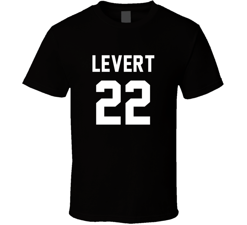 Caris Levert Jersey Back Brooklyn Basketball Team Fan For Black T Shirt