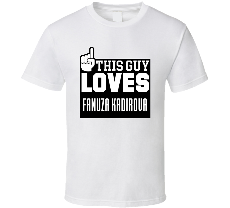 Fanuza Kadirova Olympic Athletes From Russia Pyeongchang 2018 This Guy Loves Athletes Fan T Shirt