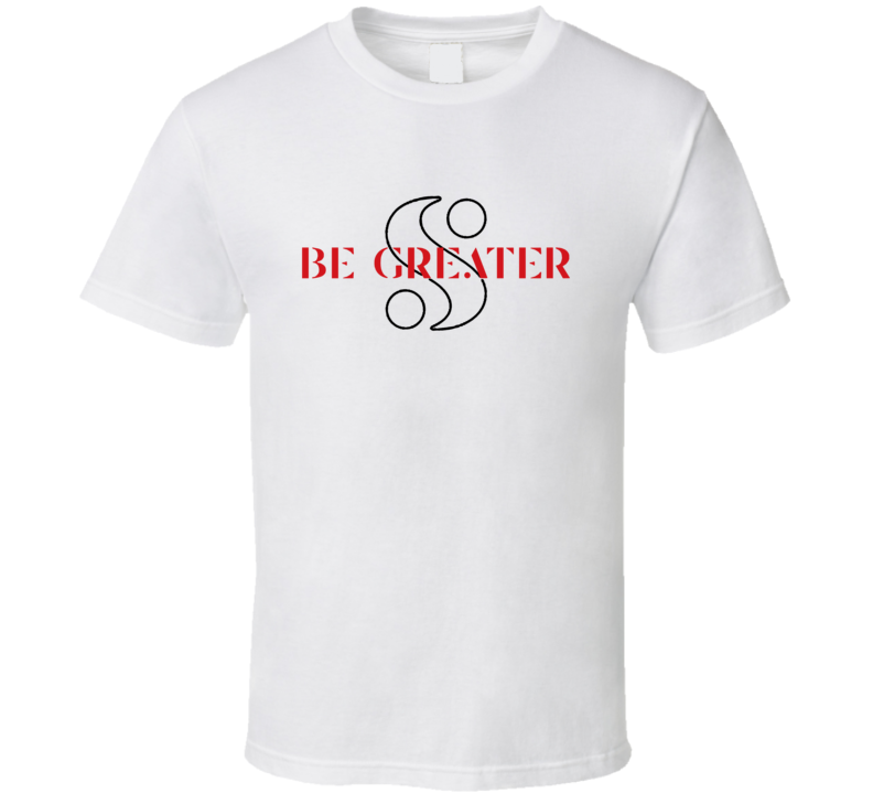 Be Greater Serena Williams Motivational Tennis Fan T Shirt