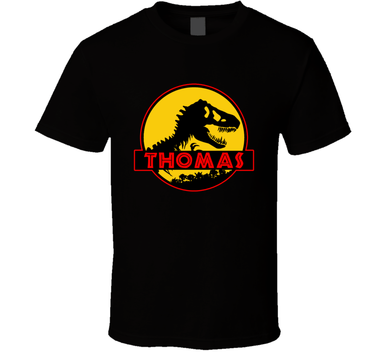 Thomas Dinosaur Jurassic Park Movie Inspired T Shirt
