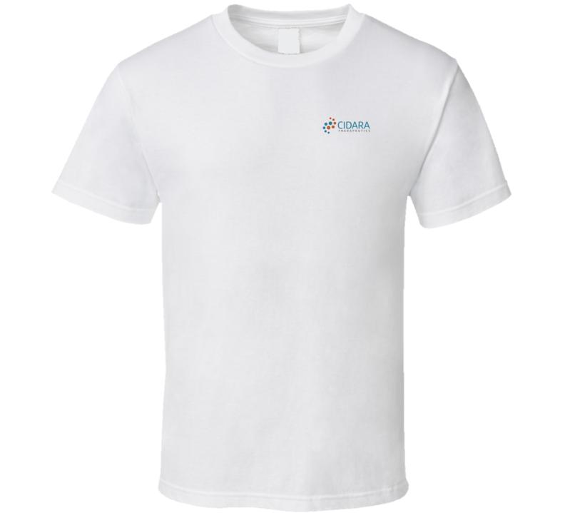 Cidara Therapeutics Inc Nasdaq Company Logo Employee Fan T Shirt