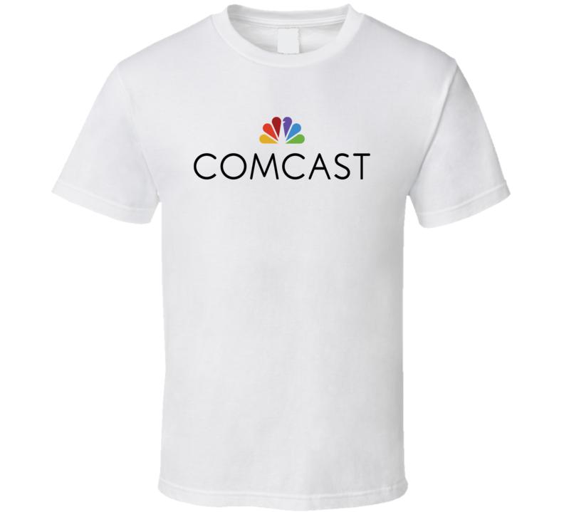 Comcast Corporation Nasdaq Company Logo Employee Fan T Shirt