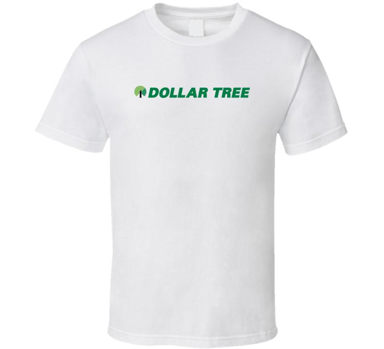 Dollar Tree Inc Nasdaq Company Logo Employee Fan T Shirt