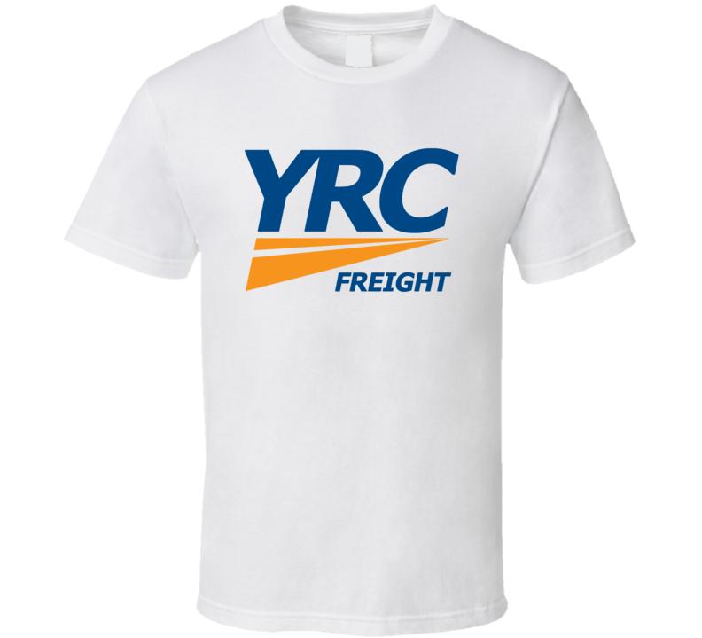Yrc Worldwide Inc Nasdaq Company Logo Employee Fan T Shirt