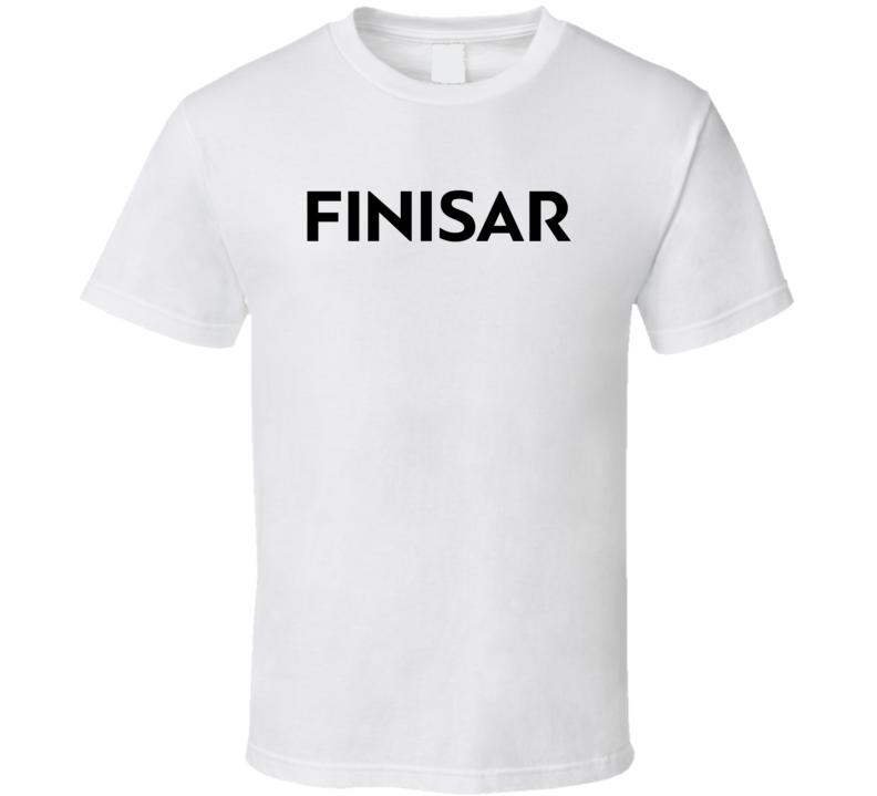 Finisar Corporation Nasdaq Company Logo Employee Fan T Shirt