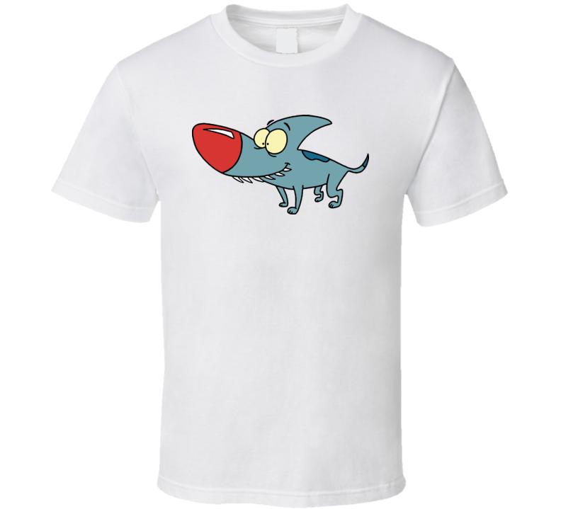 Eek The Cat Sharky Cartoon T Shirt
