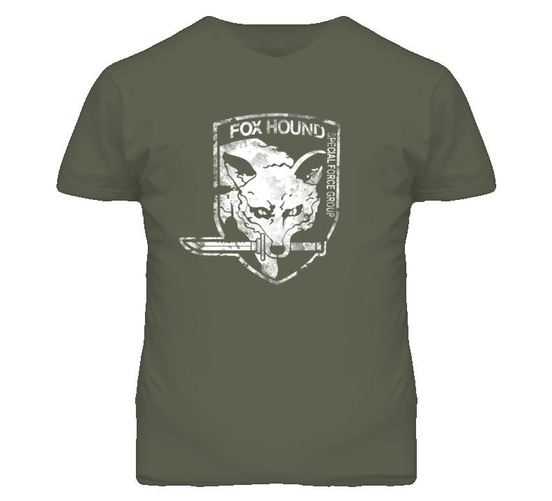 Fox Hound Metal Gear Solid T Shirt