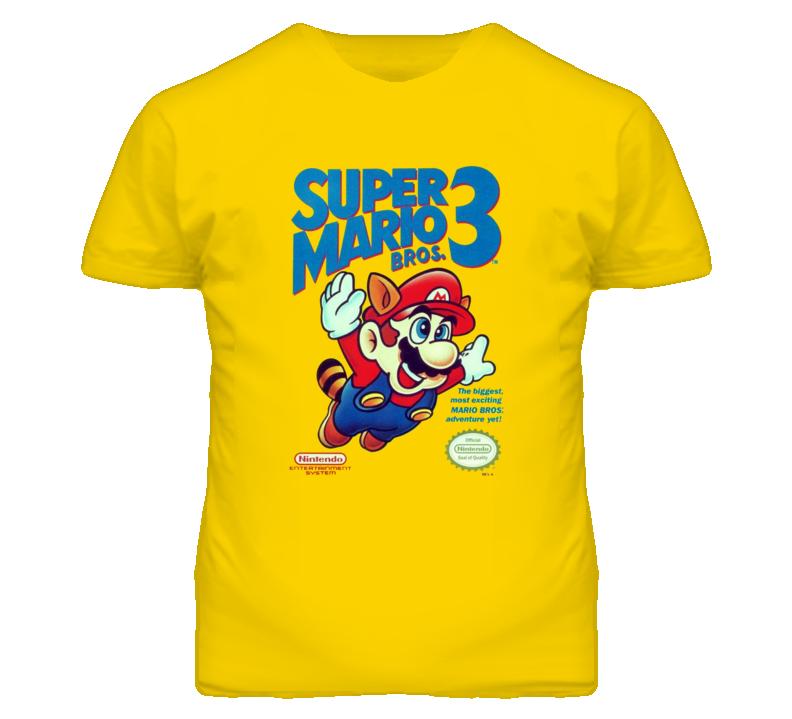 SUPER MARIO BROS. 3 Game Cover T Shirt