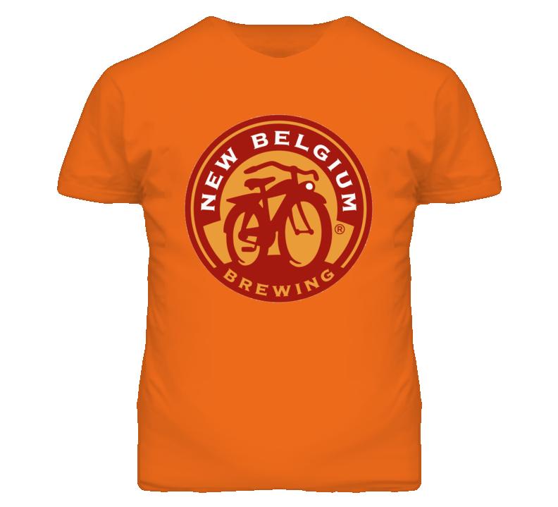 New Belgium Brewing Co Logo Beer T Shirt