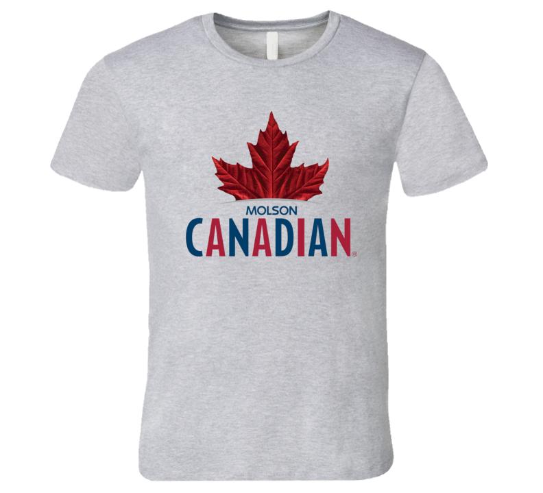Molson Canadian Logo T Shirt