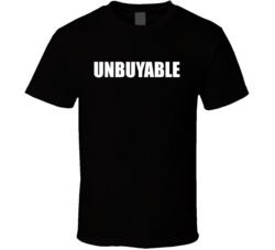 Rich Froning Inspired UNBUYABLE White T Shirt