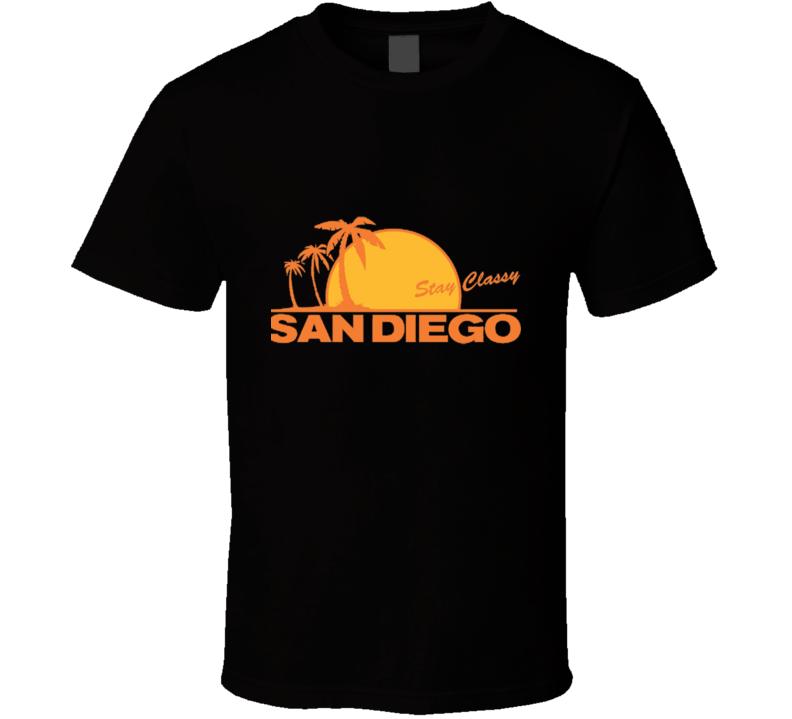 Anchorman Stay Classy San Diego T Shirt