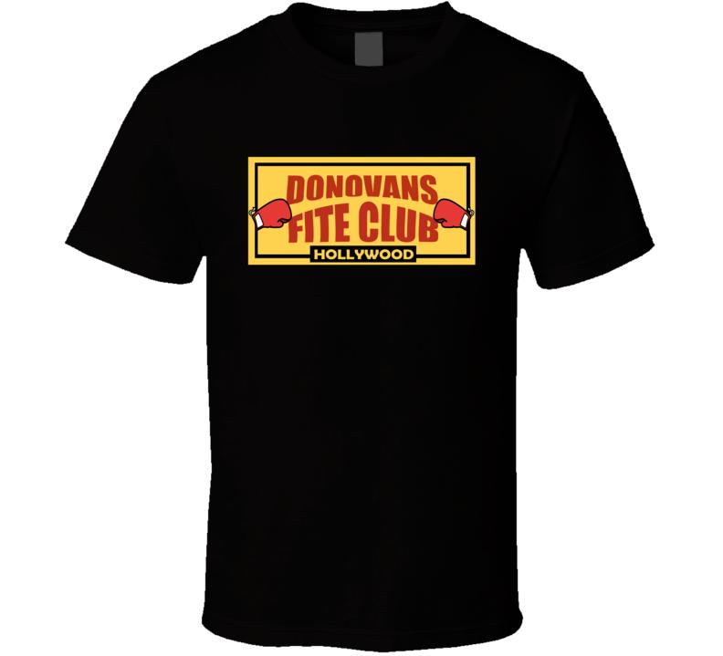 Ray Donovan Donovans Fite Club T Shirt