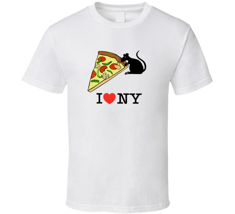 Pizza Rat NY T Shirt