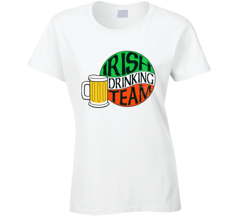 St. Patrick's Day - Irish Drinking Team Vintage - White T-Shirt
