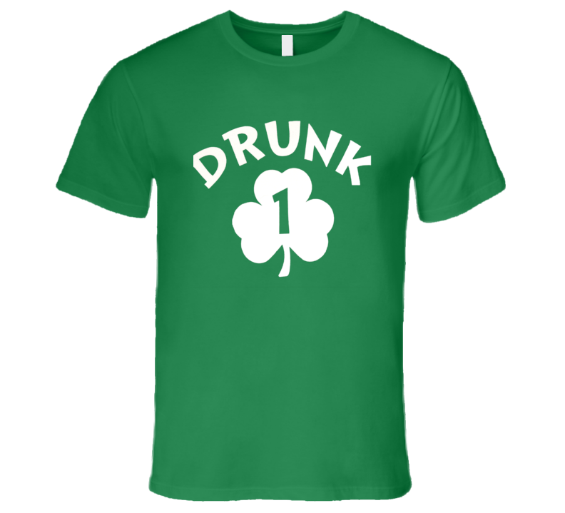St. Patrick's Day - Drunk 1 - T-Shirt