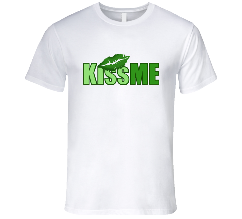 St. Patrick's Day - Kiss Me Lips - T-Shirt