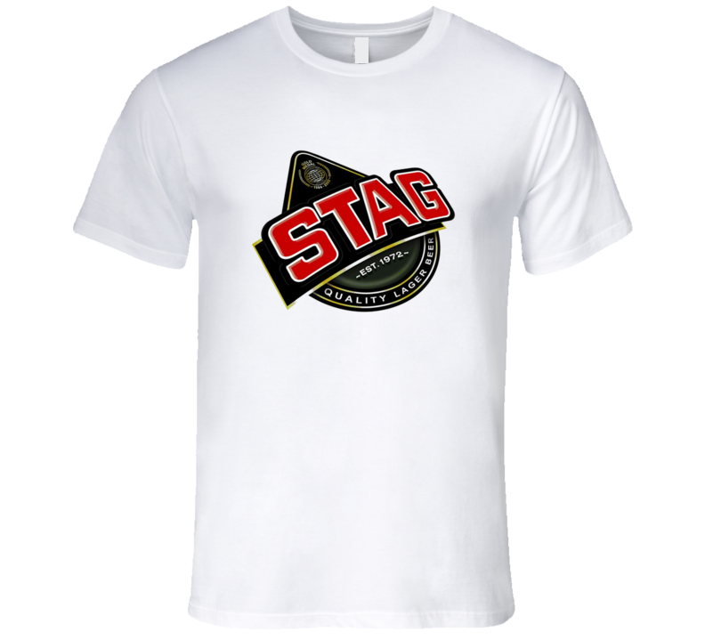 Stag Quality Lager Beer T Shirt