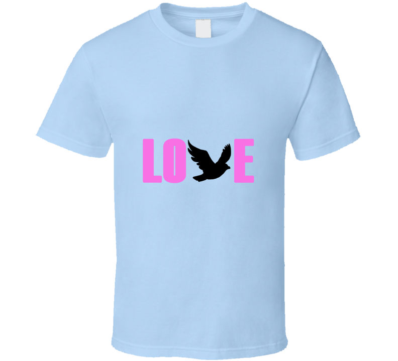 Chris Martin/Coldplay Love Dove T Shirt