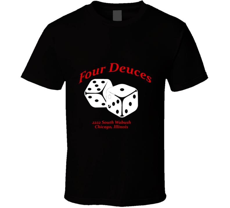 Al Capone Four Deuces T Shirt