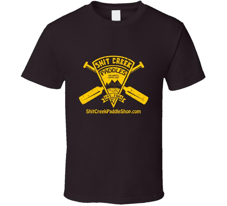 Distressed Shit Creek Paddles T-Shirt
