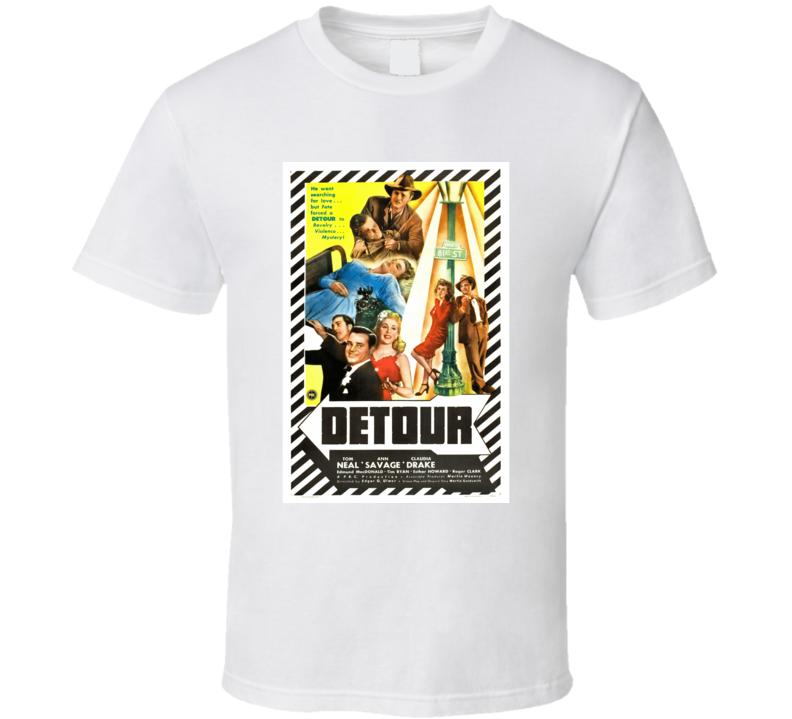 S2lm9jz7 1940s Classic Vintage Movie Poster T-shirt