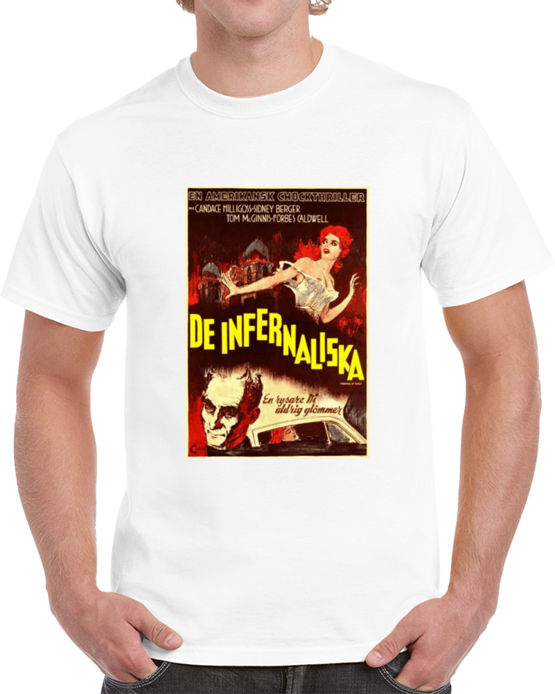Xzw7ekpd 1960s Classic Vintage Movie Poster T-shirt