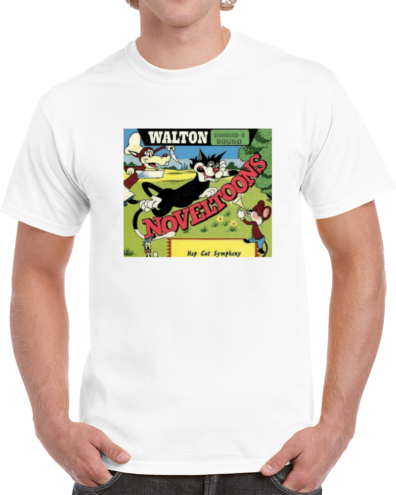 Sb98aghw 1940s Classic Vintage Movie Poster T-shirt