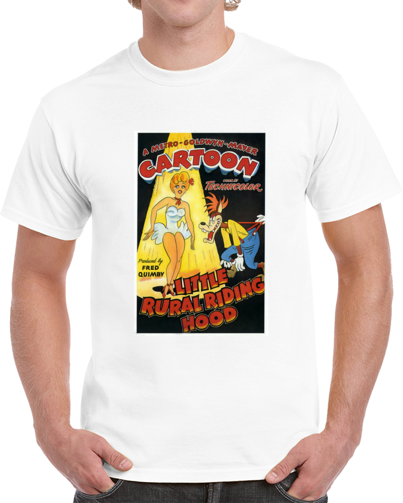 Uvbpp529 1940s Classic Vintage Movie Poster T-shirt