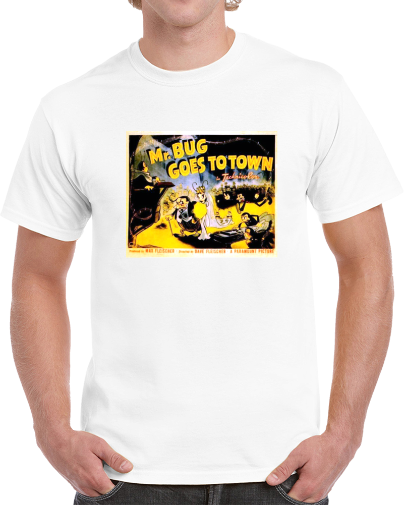 Arxyk35x 1940s Classic Vintage Movie Poster T-shirt