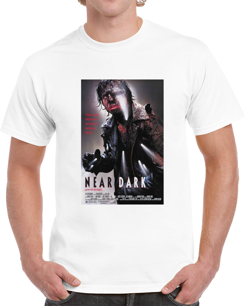 Ucxnqk5r 1980s Classic Vintage Movie Poster T-shirt