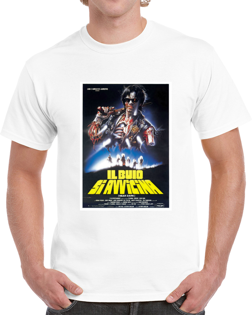 8mlf8v2m 1980s Classic Vintage Movie Poster T-shirt