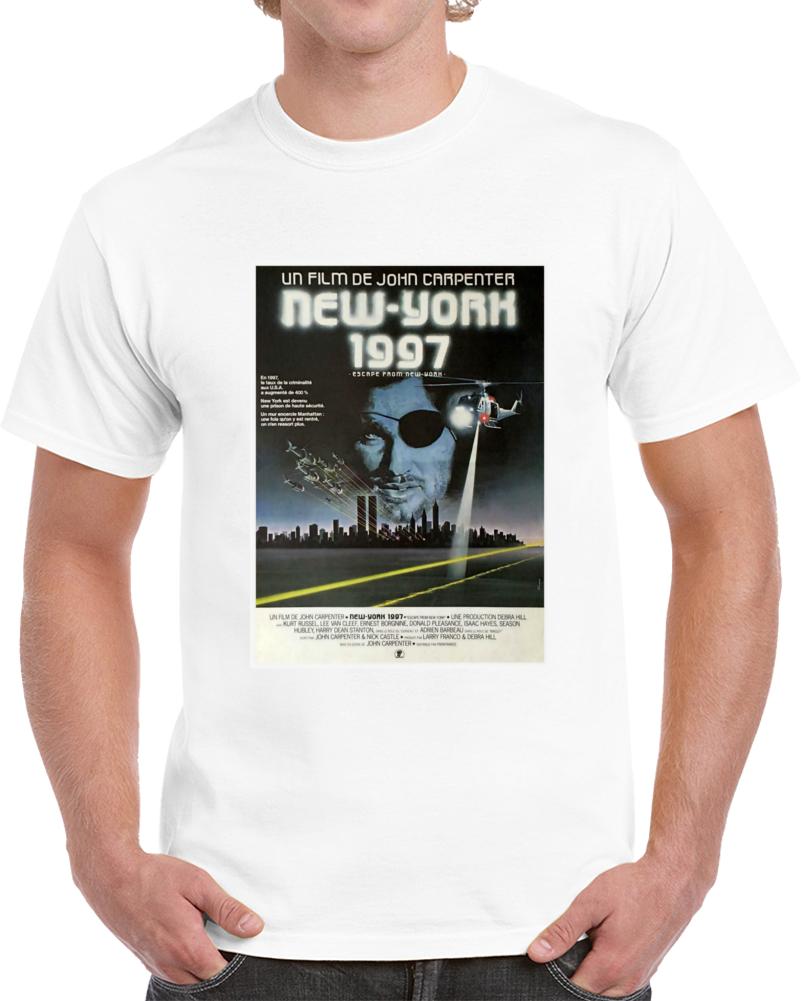 W3c849q2 1980s Classic Vintage Movie Poster T-shirt