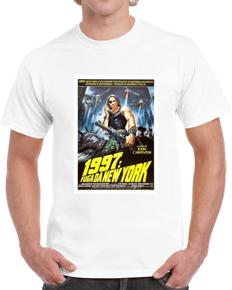 Vtypt3rv	1980s Classic Vintage Movie Poster T-shirt