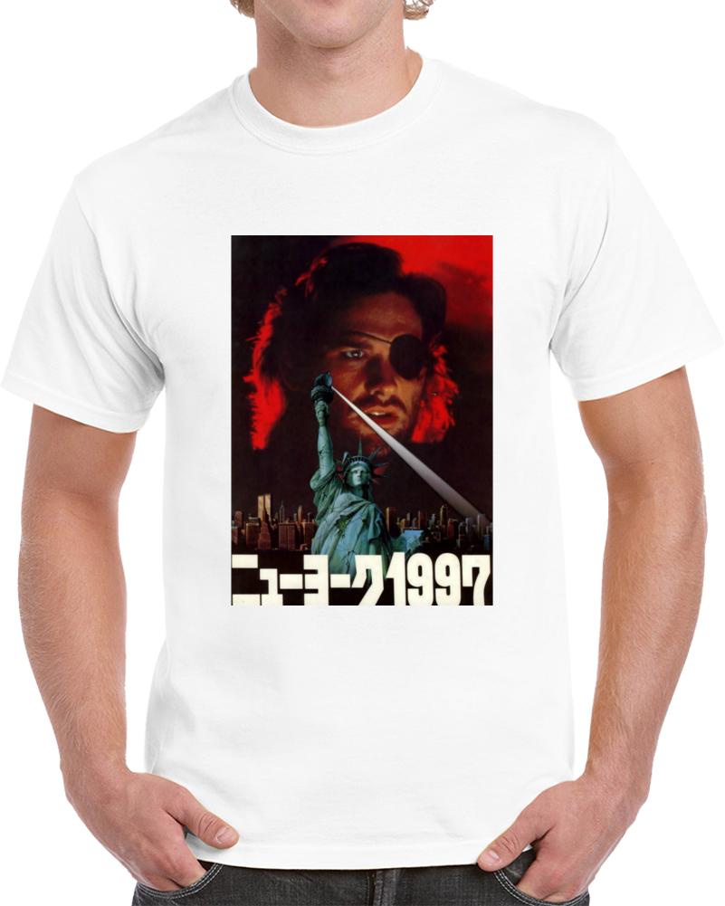 49za328l 1980s Classic Vintage Movie Poster T-shirt