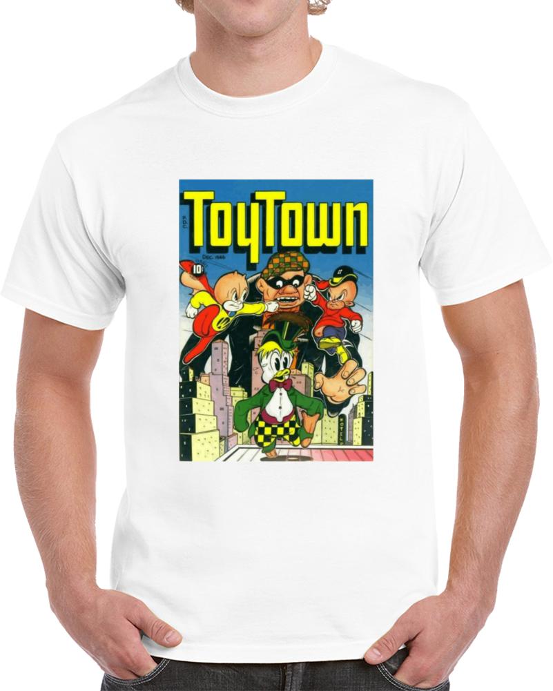 Kszy5dhg 1940s Classic Vintage Comic Book T-shirt