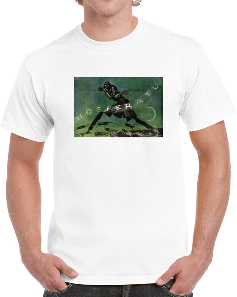 Zwhvvqxm 1920s Classic Vintage Movie Poster T-shirt
