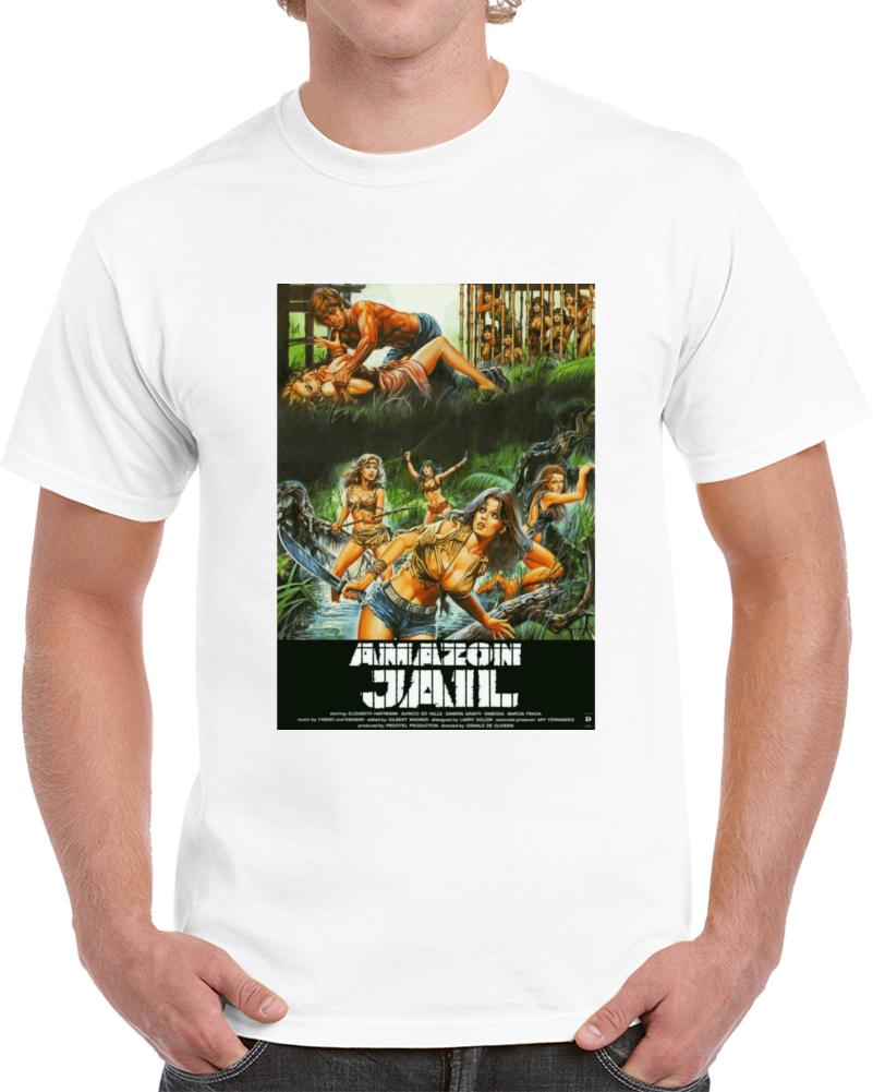 6nrj8n32 1980s Classic Vintage Movie Poster T-shirt