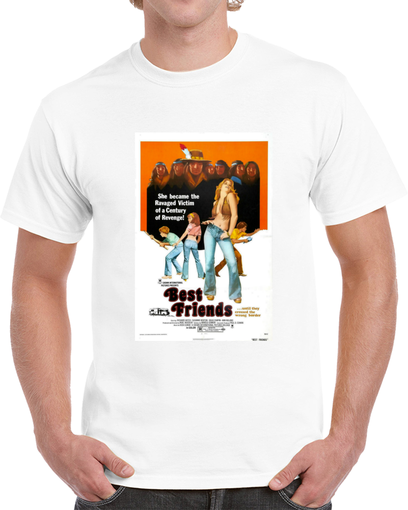 Nykafatf 1970s Classic Vintage Movie Poster T-shirt