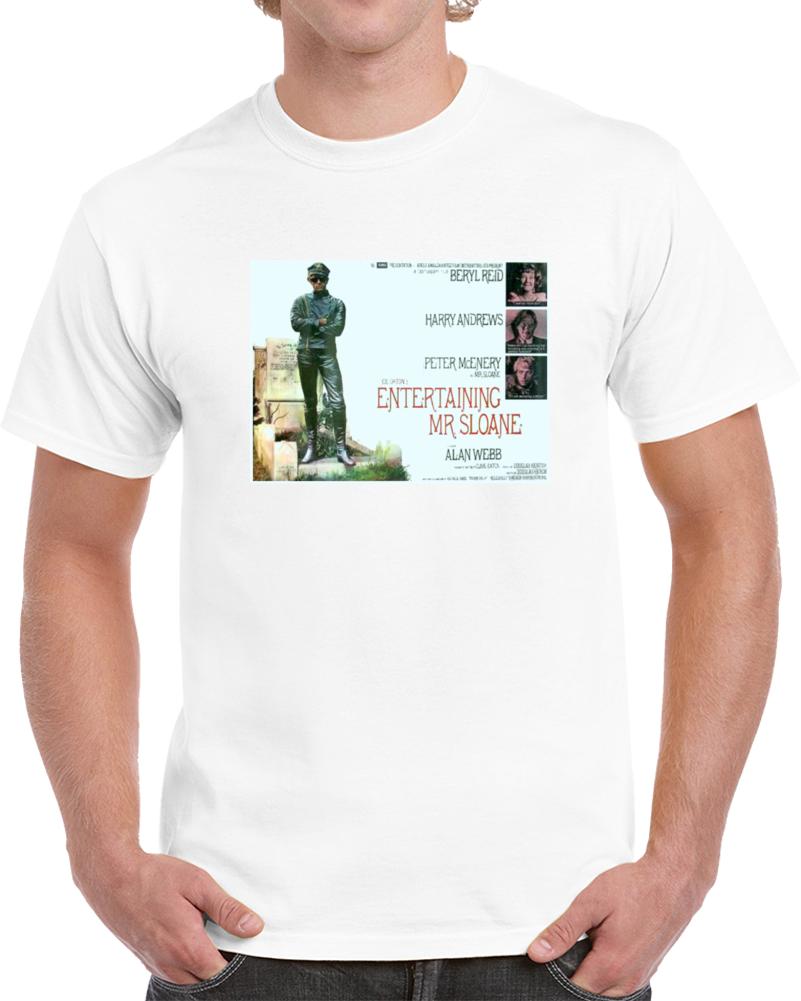 Rcghnaqt 1970s Classic Vintage Movie Poster T-shirt