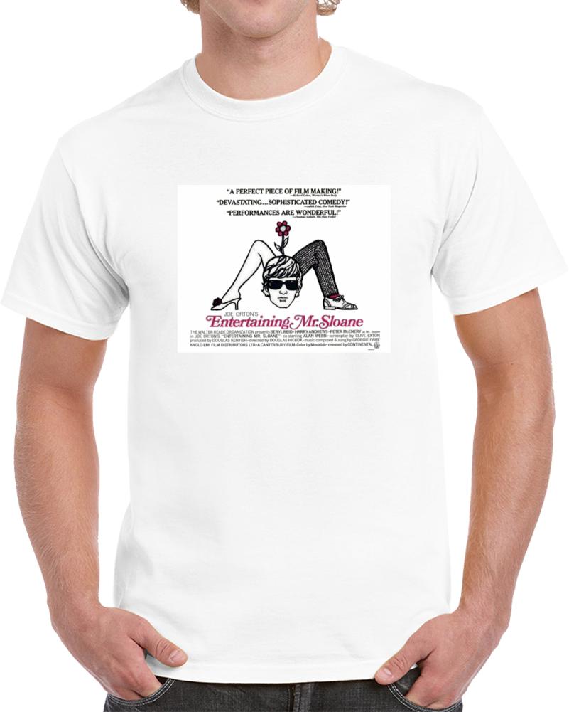 Tttlhpls 1970s Classic Vintage Movie Poster T-shirt