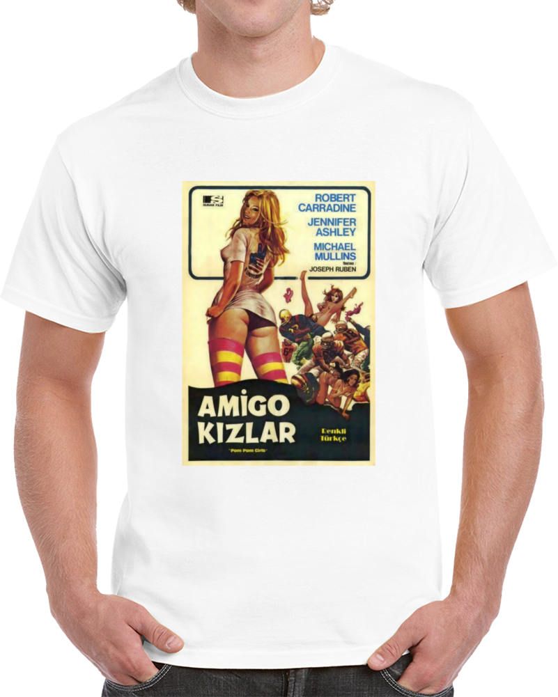 D4ur4la6 1970s Classic Vintage Movie Poster T-shirt
