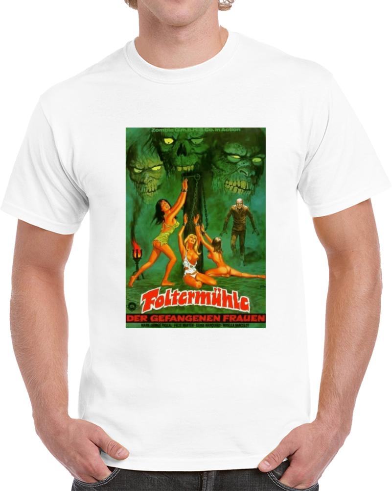 R8e3k7m7 1970s Classic Vintage Movie Poster T-shirt